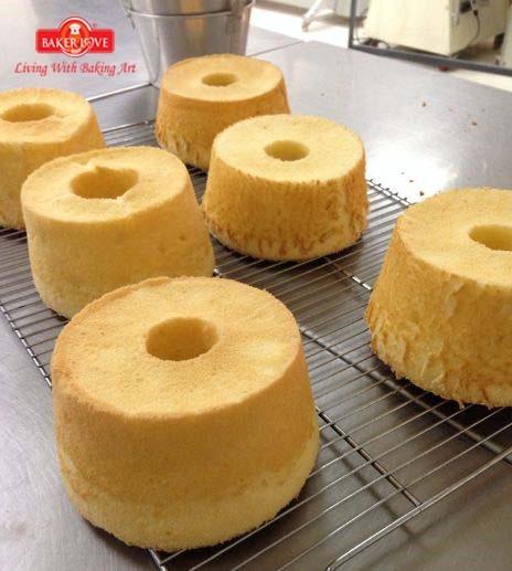 Dạy làm bánh bông lan chanh (Lemon Chiffon)