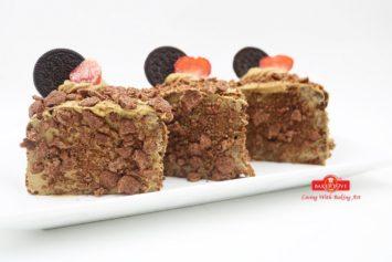 Học làm bánh Devil food cake