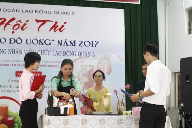 """Vòng Chung Kết của """"Hội Thi Sáng Tạo Đồ Uống 2017"""""""