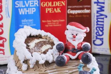 Video Hướng Dẫn Trang Trí Bánh Kem - Ông Già Noel
