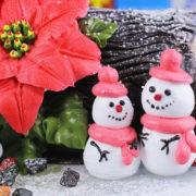 Video Hướng Dẫn Trang Trí Bánh Kem - Người Tuyết Giáng sinh