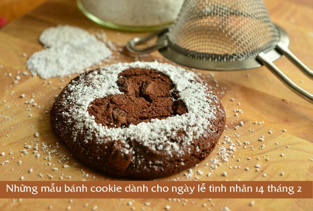 Những mẫu bánh cookie dành cho ngày lễ tình nhân 14 tháng 2