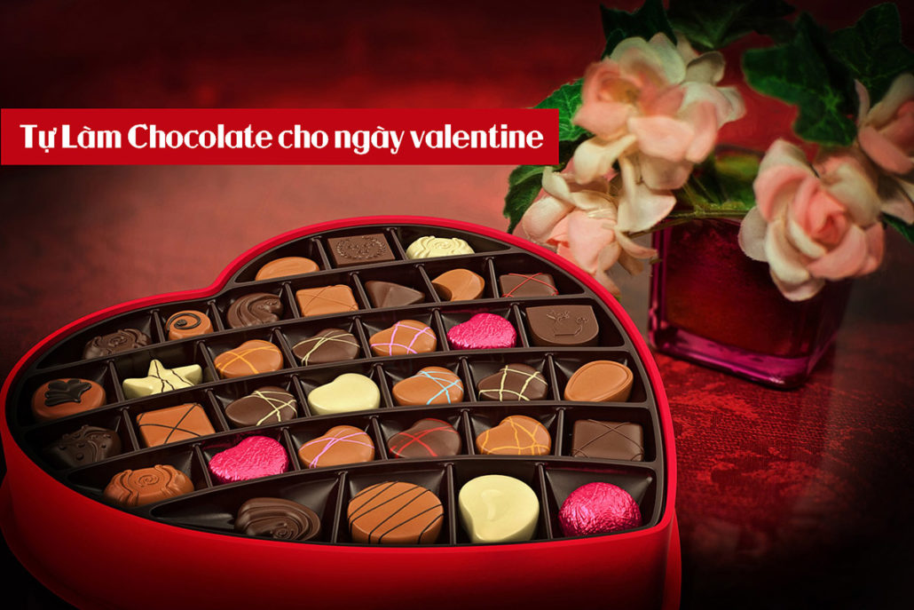 Tự làm chocolate cho ngày Valentine