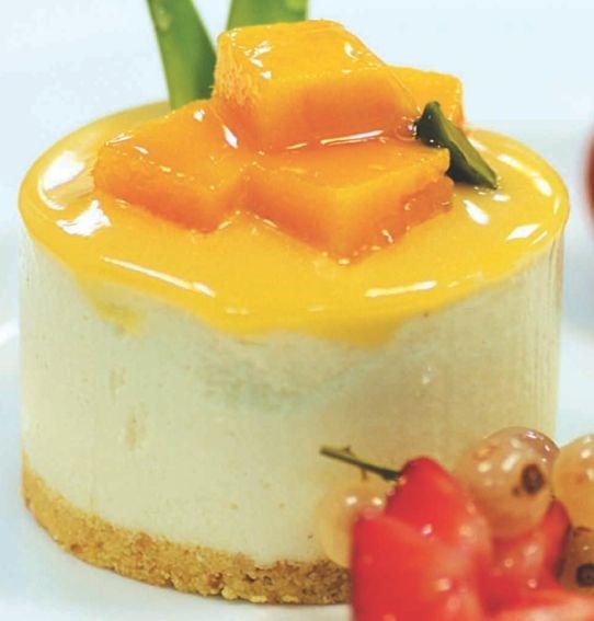 Anise Mousse Cake