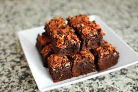 Bacon Whisky Brownies