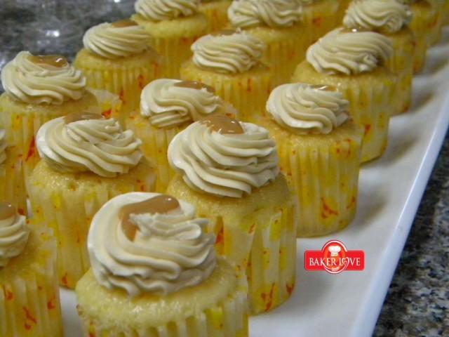 Caramel Butter cupcake