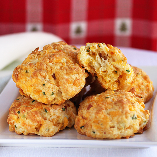 Cheddar & Bacon Biscuits
