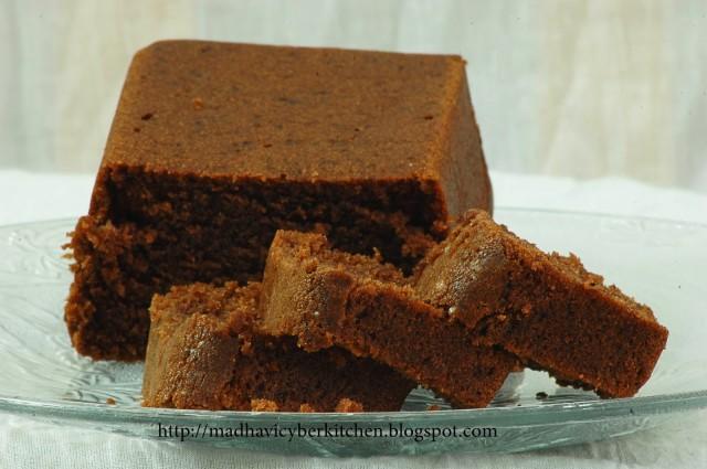 Choco Tofu Cake