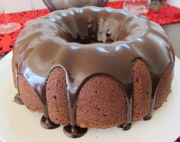 Double Chocolate Bundt Cake