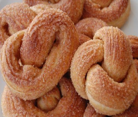 Dutch sugar cracknels