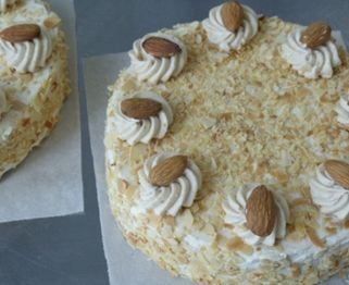 Hazelnut meringue cake