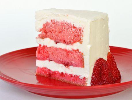 Strawberry Layer cream cake