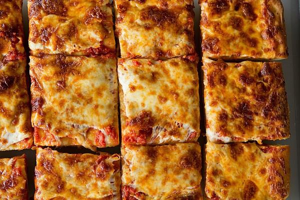 Thick-Crust Sicilian Pizza