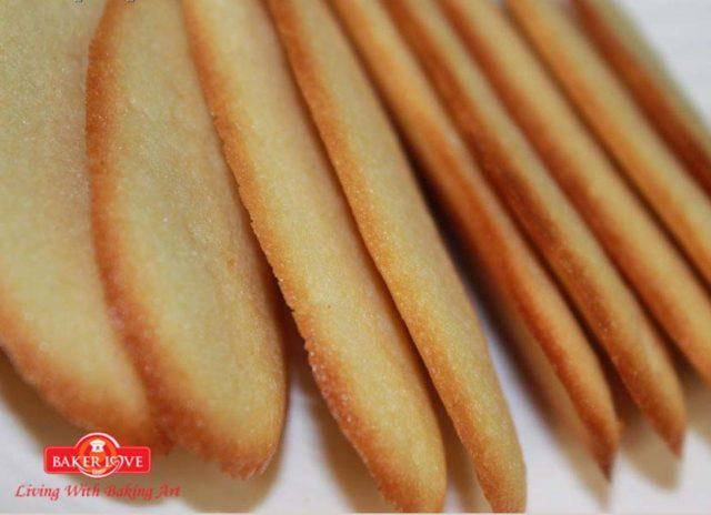 Dạy làm bánh Cookies lưỡi mèo (Langues De Chat)