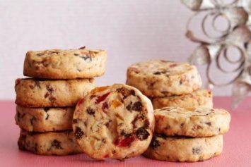 Học làm bánh Mix fruit Cookies
