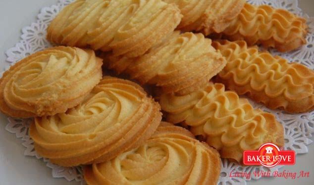 Dạy làm bánh Cookies Danisa (Shortbread Cookies)