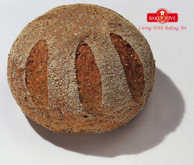 Dạy làm bánh mì Whole meal (Whole meal bread)